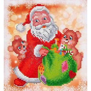 Santa & Teddies - Diamond Dotz Kit