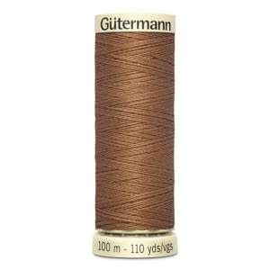 Gutermann Sew-all Thread 100m Colour 842 BRONZE