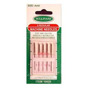 Regular Machine Needles - Assorted 5pk