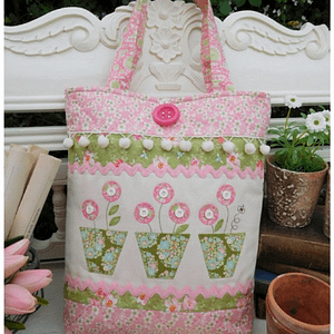Potted Bumblebee - Bag Pattern by The Rivendale Collection