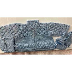 Handmade Newborn Set - Blue