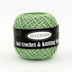 Crochet Cotton - Mint 50g
