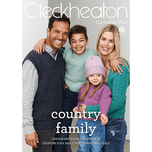 Country Family - Knitting Pattern Book