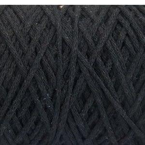 Macrame-Cotton-Black-250g