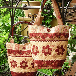 Dilly-Dally-Daisy - Bag Pattern by The Rivendale Collection