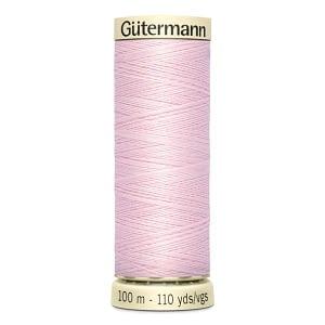 Gutermann Sew-all Thread #372 BABY PINK, 100m Colour