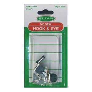 Hook & Bar 18mm Silver