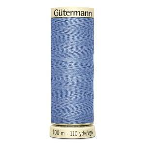 Gutermann Sew-all Thread 100m Colour 74 LIGHT CORNFLOWER BLUE