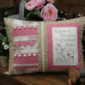 Grandmother's Heart - Cushion Pattern by The Rivendale Collection