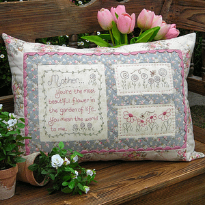 Mother - Cushion Pattern by The Rivendale Collection