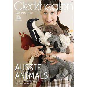Aussie Animals - Knitting Pattern Book