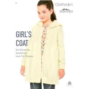 Girls Coat - Knitting Leaflet