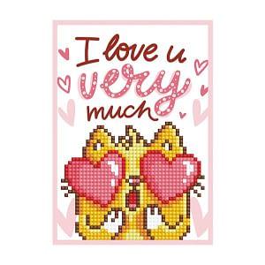 Love You - Diamond Dotz Greeting Card Kit