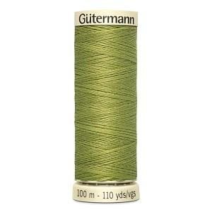 Gutermann Sew-all Thread 100m Colour 582 LIGHT KHAKI GREEN