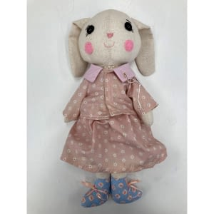 pretty bunny handmade plush toy 2