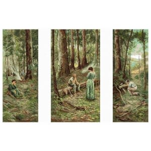The Pioneer - Cross Stitch Kit by Country Threads