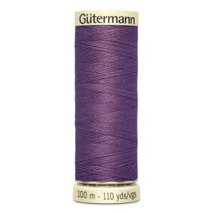 Gutermann Sew-all Thread 100m Colour 129 DUSKY PURPLE