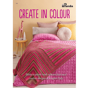 Create in Colour - Knitting & Crochet Pattern Book for Crypto 8 Ply