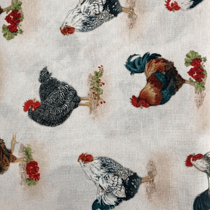 Roosters - Cotton Print