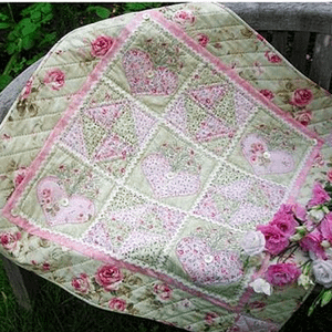 Hearts-A-Bloom - Quilt Pattern by The Rivendale Collection