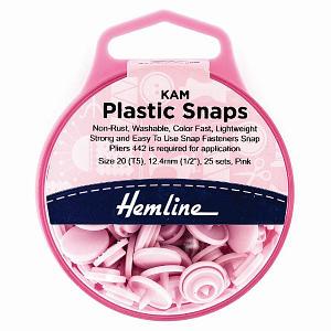 Plastic Fasteners - Pink