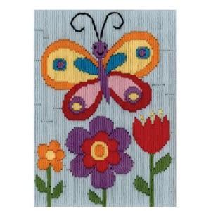 Butterfly Long Stitch Kit