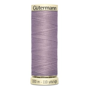 Gutermann Sew-all Thread 100m Colour 125 DUSKY LAVENDER