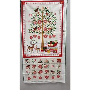 Advent Calendar - Fabric Panel