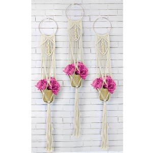 Macrame Wall Hanging Kit - Three Times The Charm 2