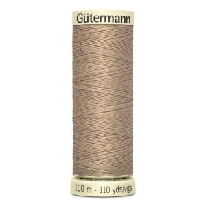 Gutermann Sew-all Thread 100m Colour 215 LIGHT MOCHA BEIGE
