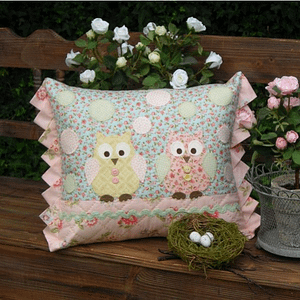 Two Hoots - Cushion Pattern by The Rivendale Collection
