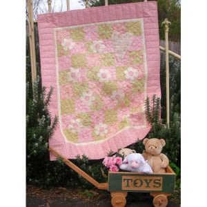 Like an Angel - Quick Cot Quilt Pattern by The Rivendale Collection