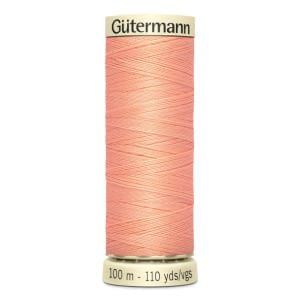 Gutermann Sew-all Thread 100m Colour 586 PEACH PINK