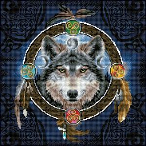 Celtic Wolf Guide - Diamond Dotz Kit