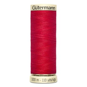 Gutermann Sew All Thread – Bright Red #156 100 metre