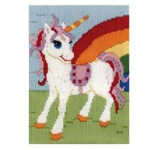 Rainbow Unicorn Long Stitch Kit