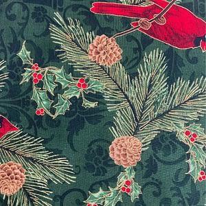 Christmas Print - Cardinals and Holly