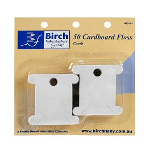 Floss Bobbins - Cardboard Pk 50