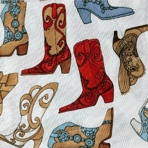 Boot Scootin - Cotton Print