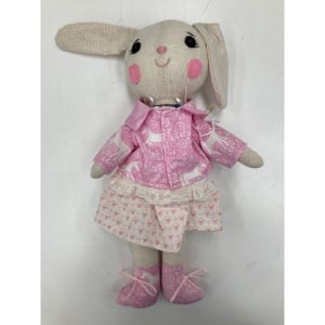 pretty bunny handmade plush toy