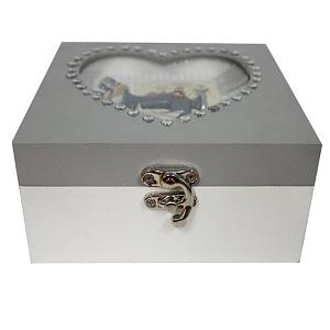 Decorative Sewing Box - Heart