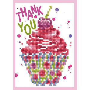 Thank You - Diamond Dotz Greeting Card Kit