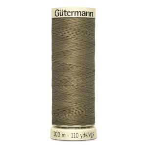 Gutermann Sew-all Thread 100m Colour 528 DRAB BROWN
