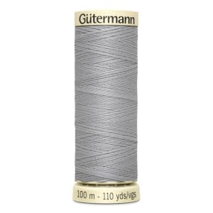 Gutermann Sew All Thread – Light Grey #38 100 metre