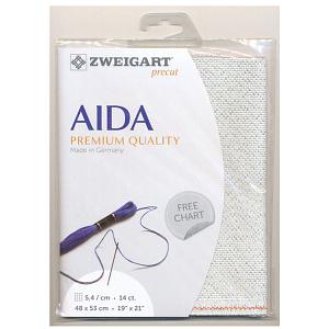 Zweigart Precut Aida Needlework Fabric - 14ct