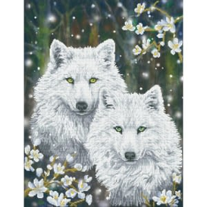 Winter Wolves - Diamond Dotz Kit