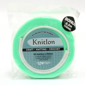 Knitlon Nylon Knitting Ribbon - Mint