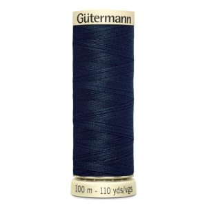 Gutermann Sew-all Thread 100m Colour 487 DARK DENIM BLUE