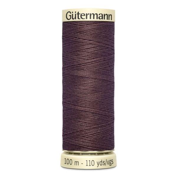 Gutermann Sew-all Thread 100m Colour 883 DARK COCOA