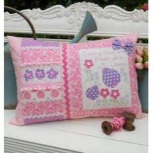 Ladybug Kisses - Cushion Pattern by The Rivendale Collection